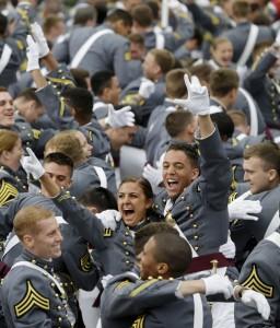 West Point grads celebrate