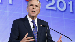 "Jeb Bush: The former Florida Gov. speaks in Oklahoma City. Jeb Bush stepped into the Republican race for president June 4.  ""I want to be the guy to beat,"" a confident Bush said while campaigning in Florida earlier this week. (AP Photo/Alonzo Adams, File)"