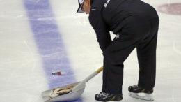 Nashville fan throws catfish on rink