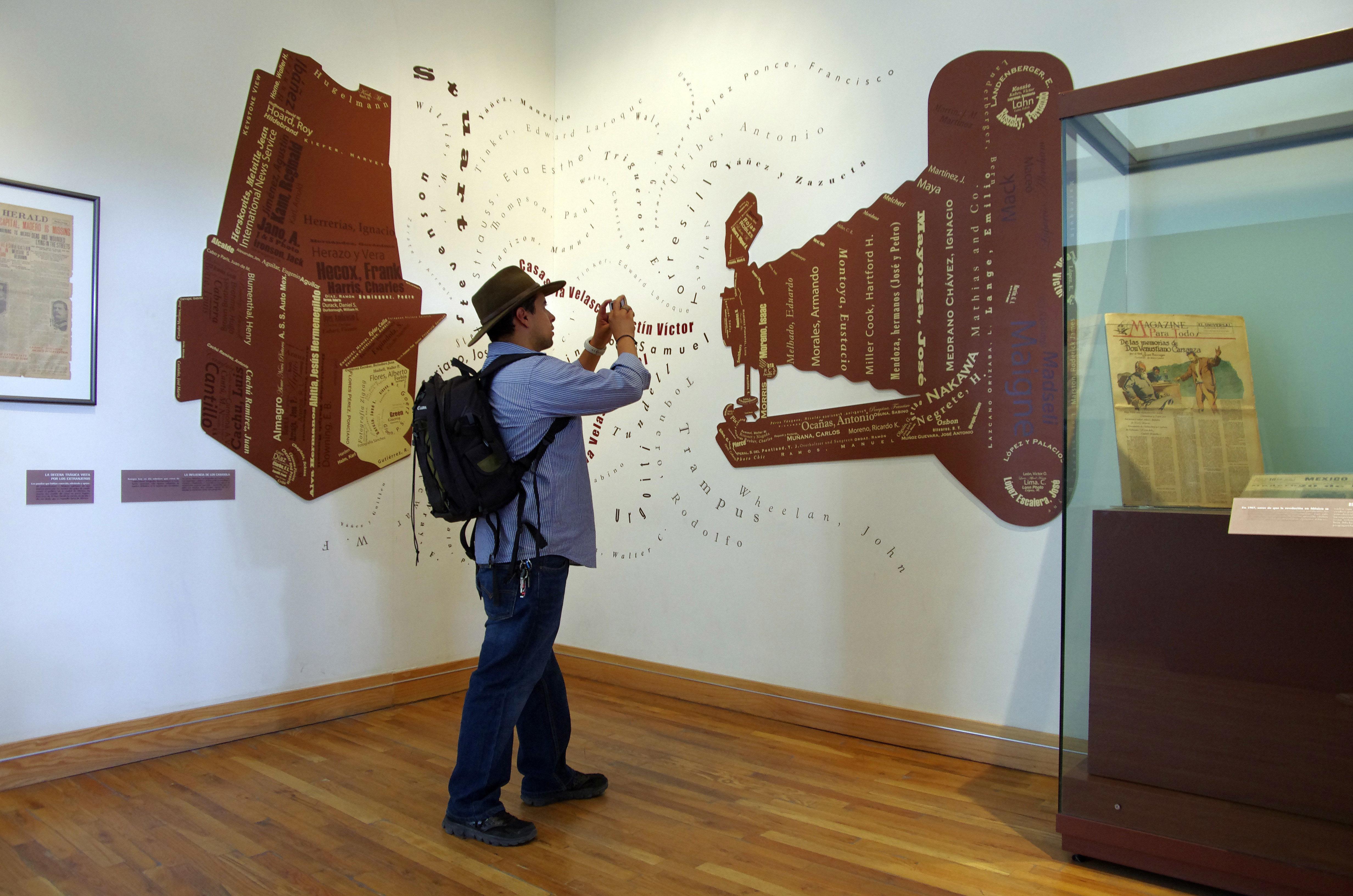 Museum of Revolution exhibit