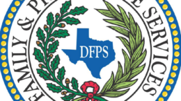 Texas Department of Family and Protective Services. logo