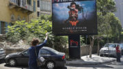 wonder woman billboard