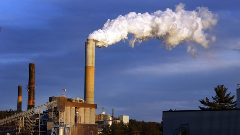 Coal-fired plant