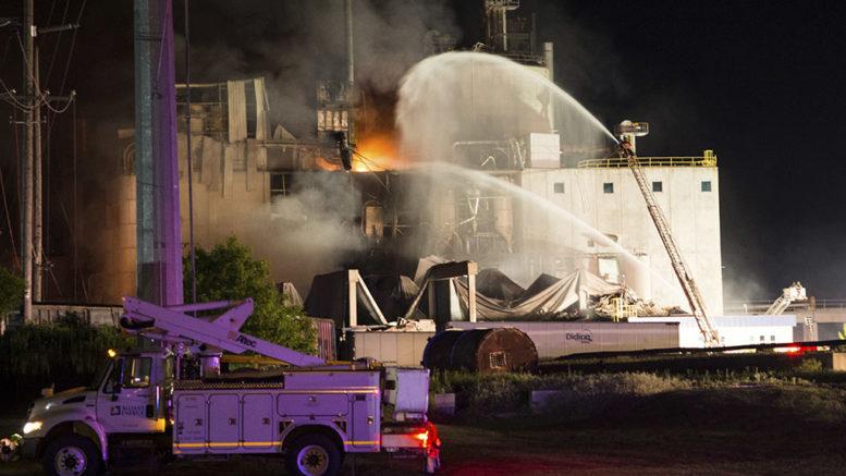Wisconsin plant explosion
