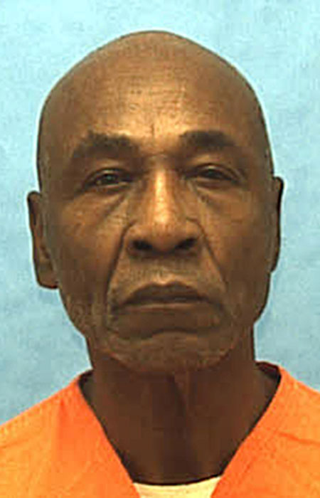 An undated mugshot of Freddie Lee Hall whose case the Supreme Court considered Tuesday. The high court said that states must look beyond an intelligence test score in borderline cases of mental disability to determine whether a death row inmate is eligible to be executed. The ruling said Florida where Hall is imprisoned cannot rely solely on an IQ score above 70 to bar an inmate from claiming mental disability. (Florida Department of Corrections/The Associated Press).